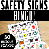 Community and Safety Signs Bingo Life Skills Special Education Activities