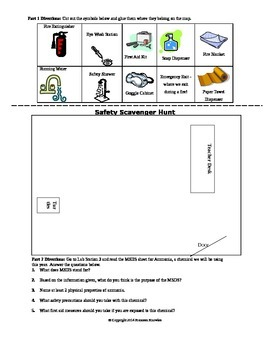 Safety and Equipment Scavenger Hunt