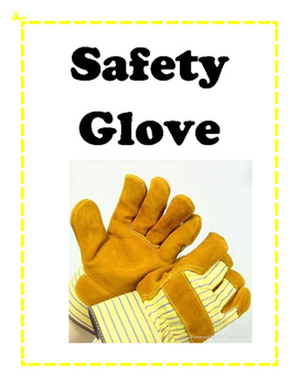 Safety and Equipment word wall