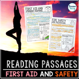 Safety and First Aid Reading Passages - Questions - Annotations