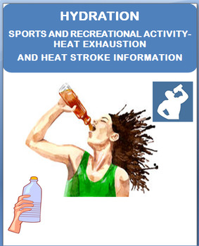 """Safety and Hydration During Sports and Recreational Activities""""-lesson/ quiz"""