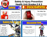 Safety and Injury Prevention Health Education Unit PDF 43 Pages