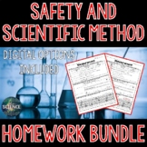 Safety and Scientific Method Homework