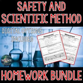 Safety and Scientific Method Homework