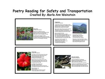 Safety and Transportation Poetry Reading