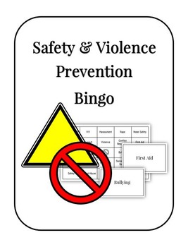 Safety and Violence Prevention Bingo