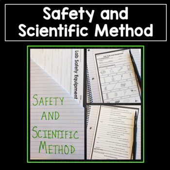 Safety and the Scientific Method PowerPoint and Notes Bundle