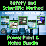 Lab Safety and the Scientific Method PowerPoint and Notes Bundle