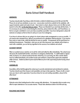 Saff Handbook