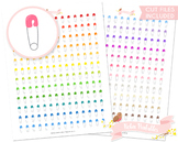 Saftey Pin Printable Planner Stickers
