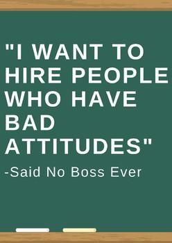 Said No Boss Ever Classroom Poster