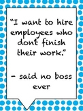 Said No Boss Posters