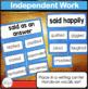 Overused Words Center Activities