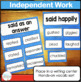 Said is Dead and other Overused Words Activities