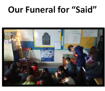 Said is Dead: Improving Student Dialogue in Writing