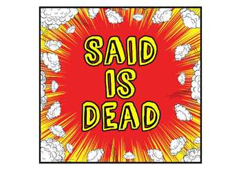 Said is Dead - Synonyms for Said - Word Wall for Display or Bulletin Board