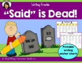 Said is Dead Writing
