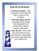 Sail Away- End of the Year Activities