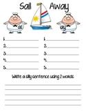 Sail Away: Vowel teams long a ai/ay sort