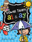 ai, ay vowel team