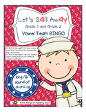 Sail Away (long /a / sound of ai and ay) BINGO