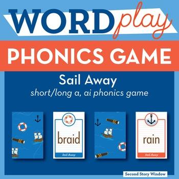 Sail Away short/long a, ai Phonics Game