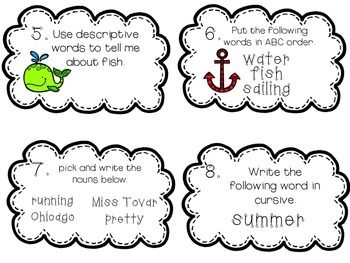 Sail into Summer Literacy Review! FREEEEEBIE!