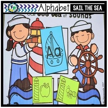Sail the Sea of Sounds {Alphabet Sounds Center}