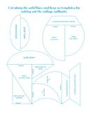 Sailboat Art Project Shape Cut Outs
