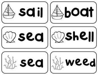 Sailboat Compound Words