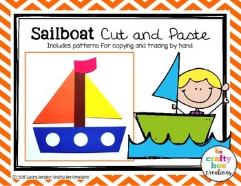 Sailboat Cut and Paste