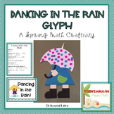 Dancing in the Rain Glyph-A Spring Math Craftivity