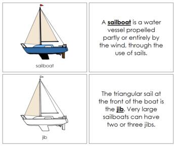 Sailboat Nomenclature Book