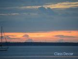 Photo Products - Sailboat Sunrise Theme