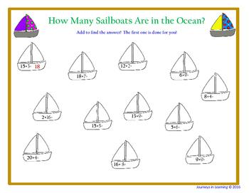 Sailboat Themed Activities