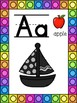 Sailboat Themed Alphabet Posters