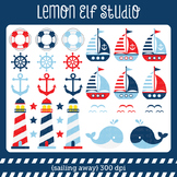 Sailing Away-Digital Clipart (LES.CL13A)