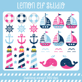 Sailing Away-Digital Clipart (LES.CL13B)