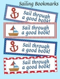 Sailing Nautical Theme Bookmarks