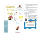 Sailing On To First Grade (An End of Year Program)