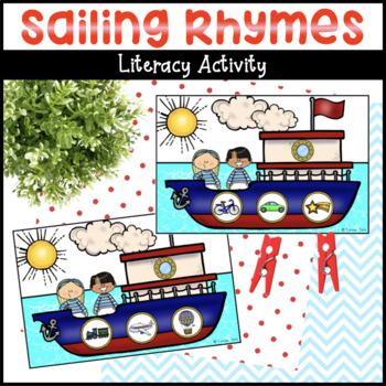 Sailing Rhymes Literacy Activity