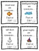 Sailing Synonyms-Fact or Fib & Craftivity Included