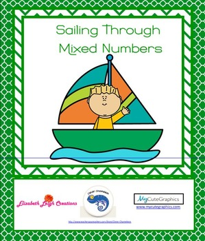 Sailing Through Fractions - Mixed Number Practice