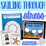 Sailing Through Stress Lesson, Digital & Printable Version