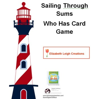 Sailing Through Sums with Who Has... I Have Card Game