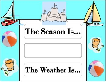 Sailing Weather Chart! Sailing Bulletin Board! Sailing Theme! Transportation!