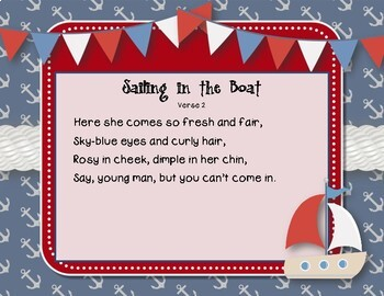 Sailing in the Boat - Nautical Folk Song with Rhythmic Accompaniment