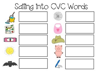 Sailing into CVC Words