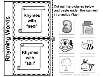 Sailing into History with Columbus: Poem, Word Work, Sequence, ABC Order