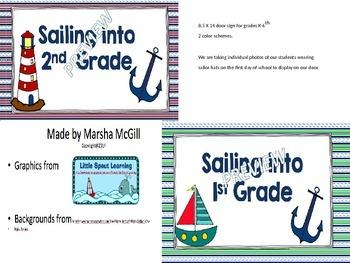 Sailing into K-6th Grade